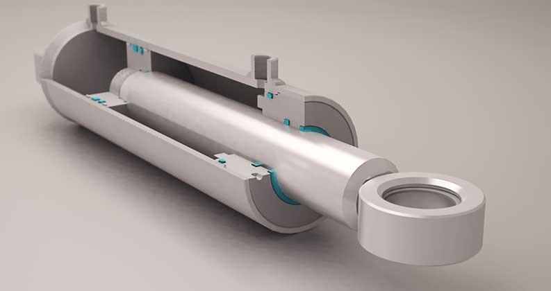 hydraulikzylinder einfachwirkend zug kabelvinda v ggmontage. Black Bedroom Furniture Sets. Home Design Ideas
